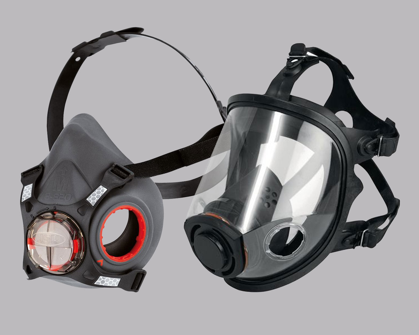 Half & Full Face Respirators