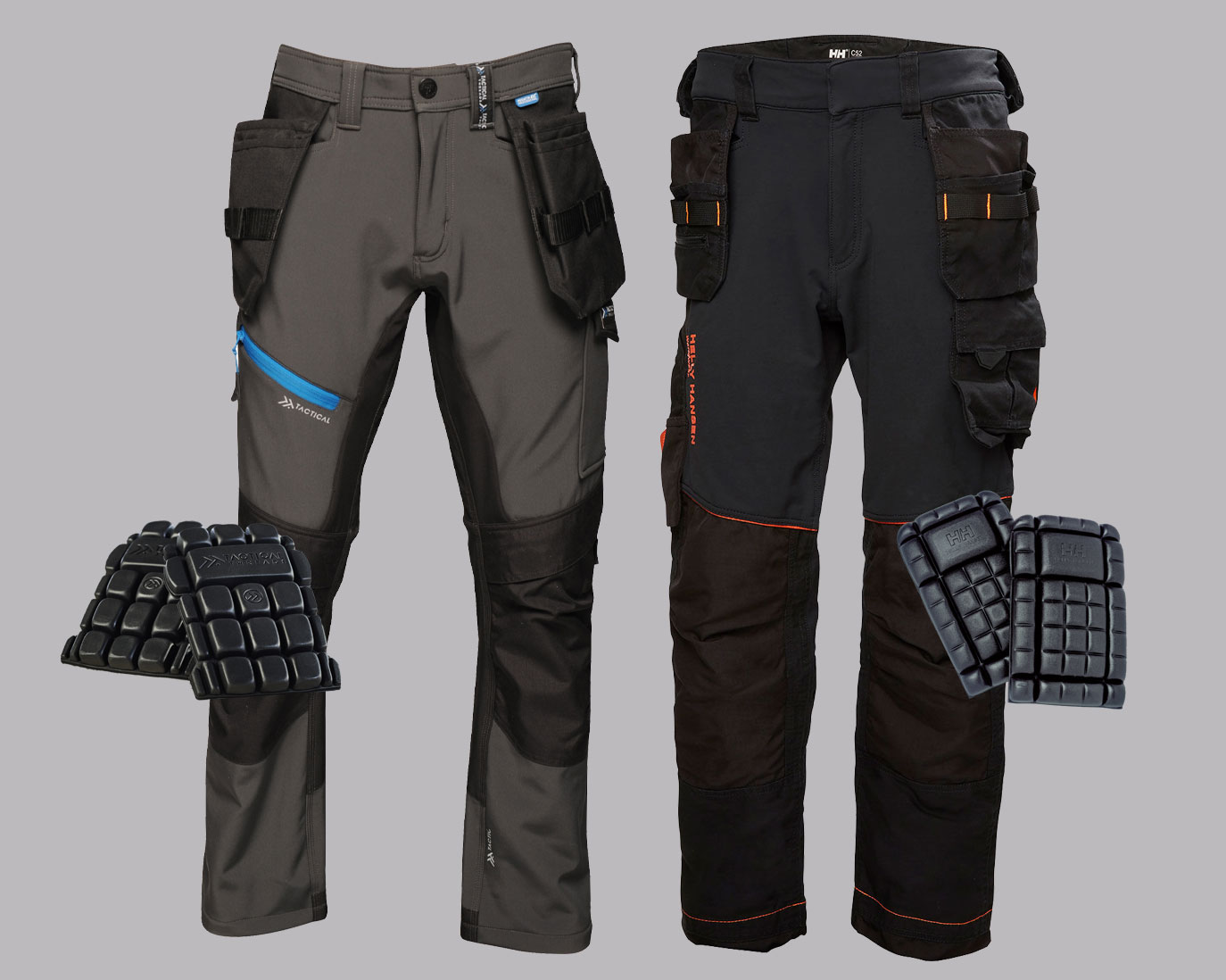 Kneepad Trousers & Accessories