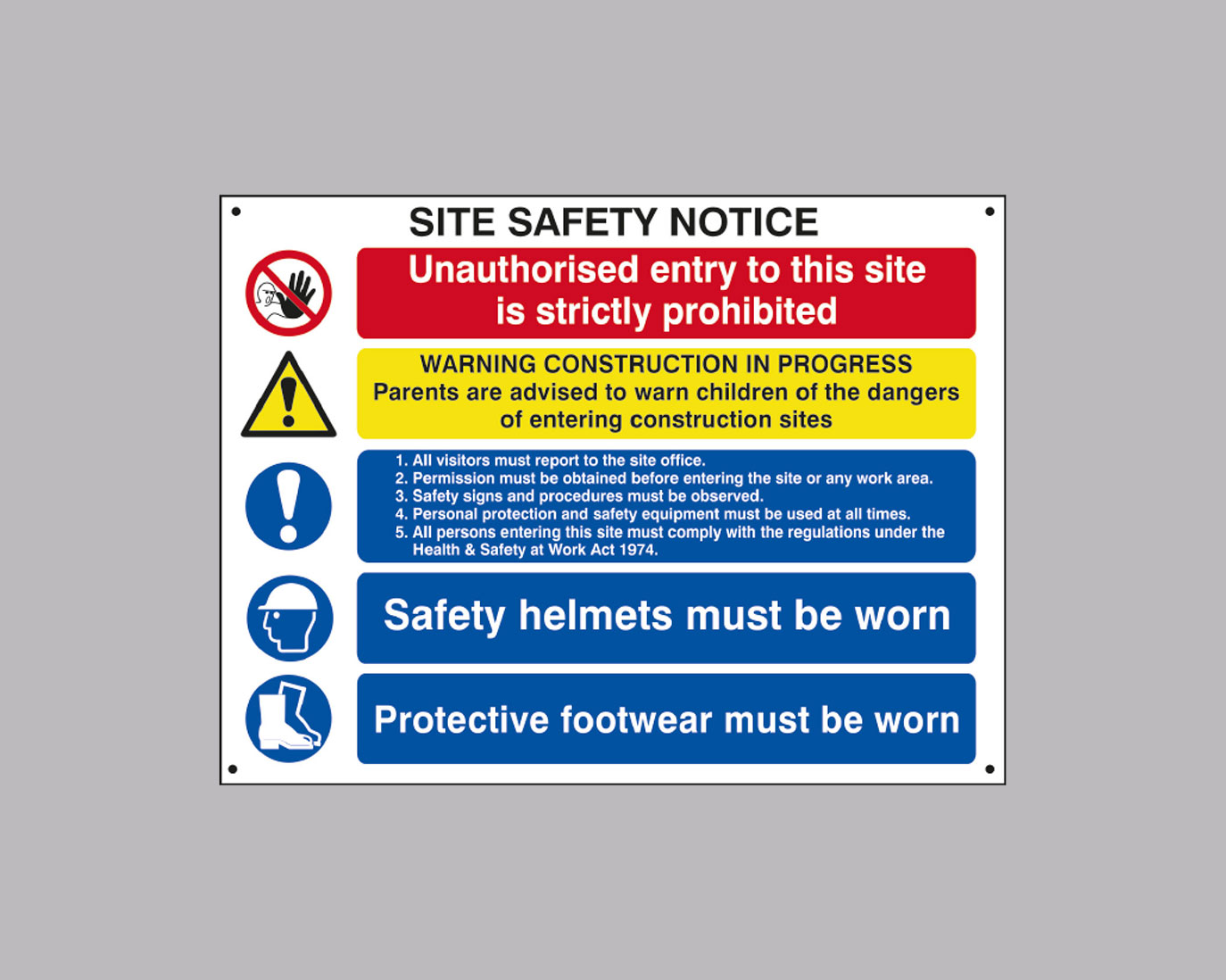 Site Safety & HSE Signs