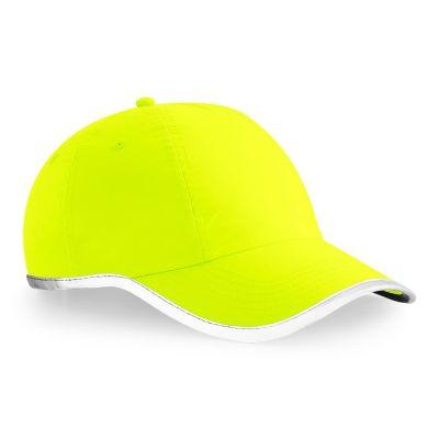 Beechfield BC035 Hi-Vis Yellow Cap