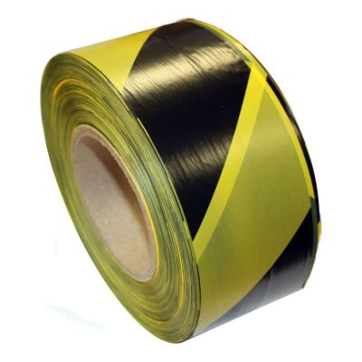Barrier Tape Black/Yellow
