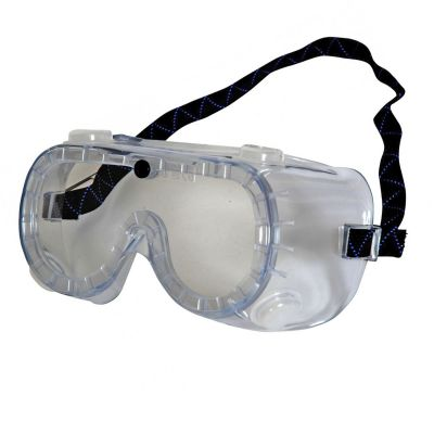 Delta Plus/ Galeras Clear PVC Panoramic Safety Indirect Vented Goggles Eyewear