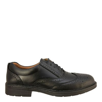 City Knights Executive Brogue Safety Shoe S1P SRC