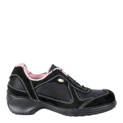 Cofra Giuditta Ladies Black/Pink Safety Shoe