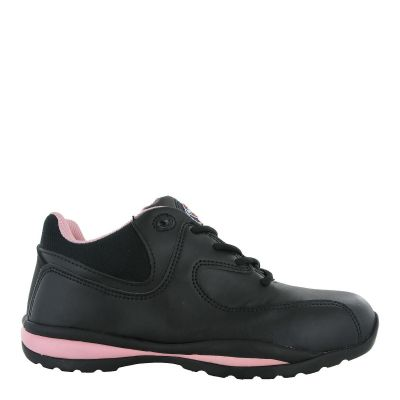 Dickies Ohio Black & Pink Ladies Safety Trainer SB