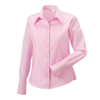 Russell Collection J956F Ladies Long Sleeve Blouse