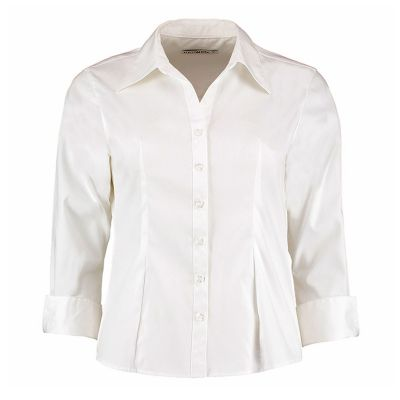 Kustom Kit KK710 3/4 Sleeve Oxford Blouse