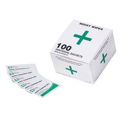 Medikit 82124 Alcohol Free Wipes Box (100)