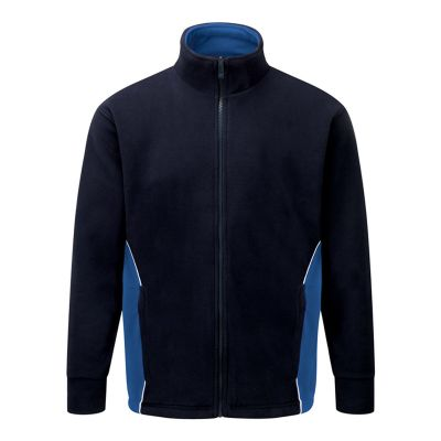 Orn Fleece Jacket Navy/Sky