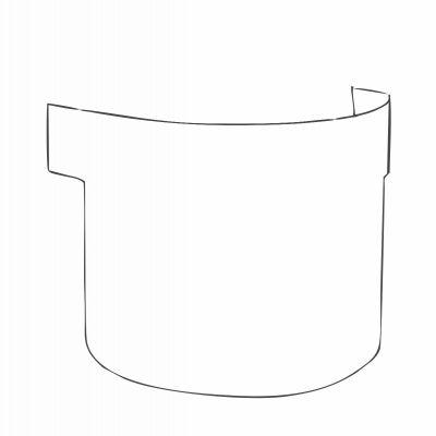 JSP® Powercap Infinity Peel Off Visors (10)
