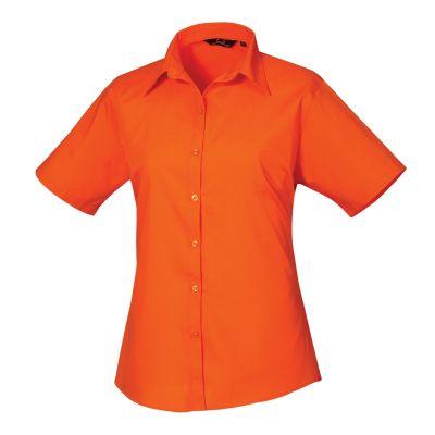 Premier PR302 Short Sleeve Poplin Blouse