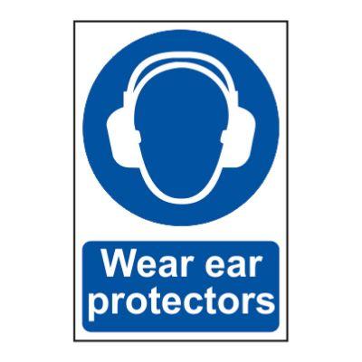 Wear Ear Protectors 200 x 300mm