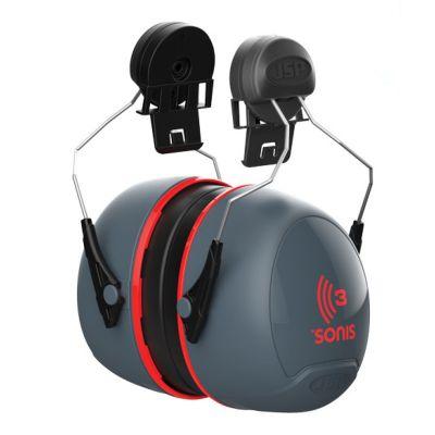 JSP® Sonis 3 Helmet Mounted Ear Defenders SNR36
