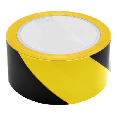 Black & Yellow Hazard Warning Sticking Tape