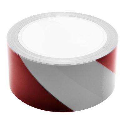 Red & White Hazard Warning Tape