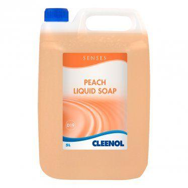 Senses Peach Liquid Soap 2 x 5 Litres 072862X5