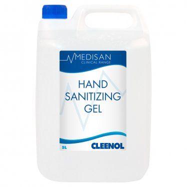 Medisan 70% Alcohol Hand Sanitising Gel 5L