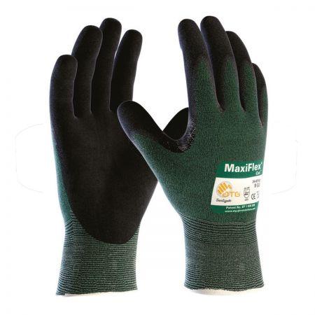 MaxiFlex® 34-8743 Palm Coated Knitwrist Cut Level B Glove