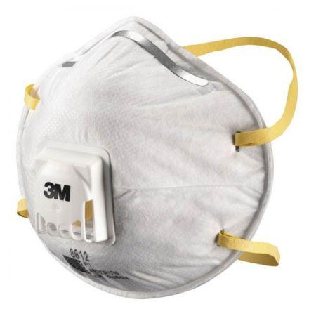 3M8812 Dust Respirator. Valved