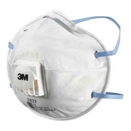 3M8822 Dust/Mist Respirator. Valved