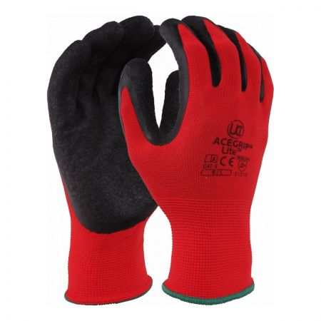 AceGrip®-Lite Globe BLACK/RED