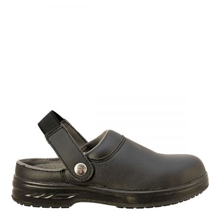 Portwest Steelite SB Black Safety Clog