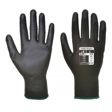 Basic PU Glove A120 BLACK