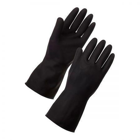 Black Rubber Glove