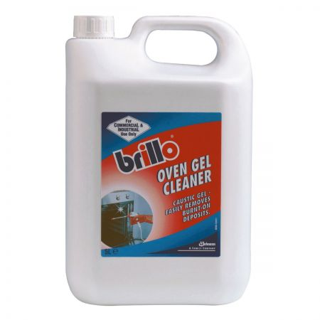 Brillo Oven Cleaner 2 x 5 Litres with Spray