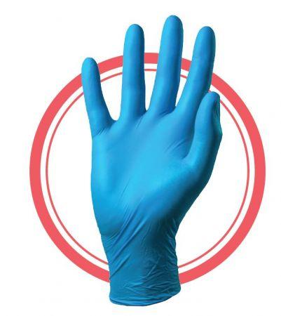 Nitrex P/F Nitrile Disposable Glove (BIG VALUE Box of 200)