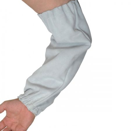 Chrome Leather Sleeves 15 inch.