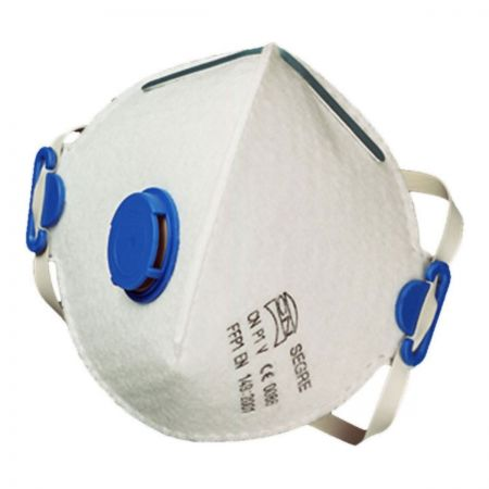 Segre CN Respirator face mask P1. Valved
