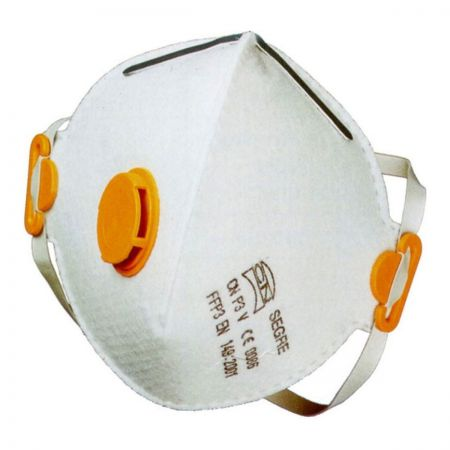 Segre CN Respirator face mask P3. Valved
