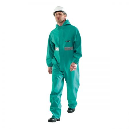Chemsol Plus Suit with Hood CPBH-EW-R