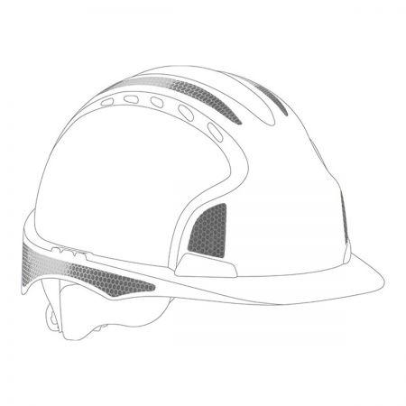 JSP® CR2 Silver Sticker Kit For Evo2/3 Helmets