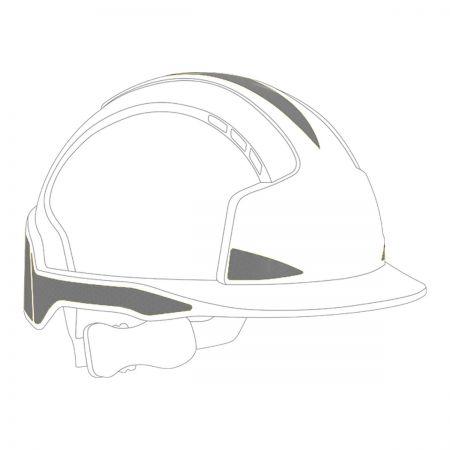 CR2 Silver Sticker Kit For EvoLite Helmets