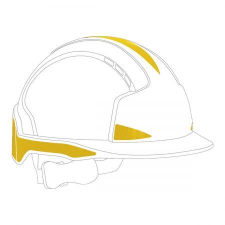 CR2 Yellow Sticker Kit For EvoLite Helmets