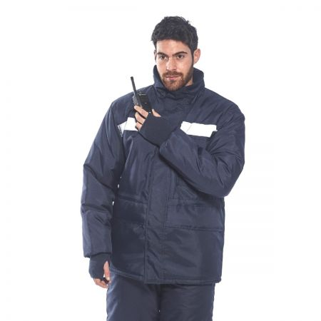 Portwest CS10 Coldstore Jacket with Hi-Vis