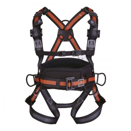 Delta Plus Riplight system II® Fall Arrester Harness with Belt & 4 Anchorage Points