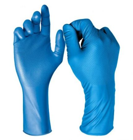 DG-Maxim-30 Blue Nitrile Gloves (50)
