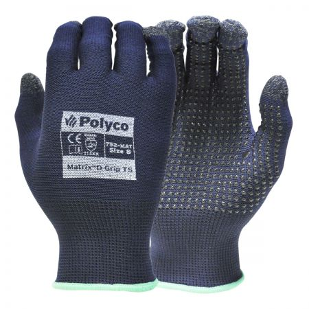 Matrix D Grip Touchscreen Glove