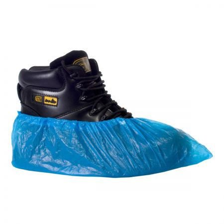 Polythene Disposable Overshoe x 100