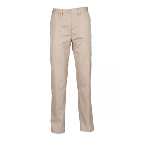 Henbury Women's Flat Fronted Chino