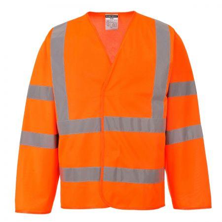 Portwest C473 Hi-Visibility Sleeved Waistcoat