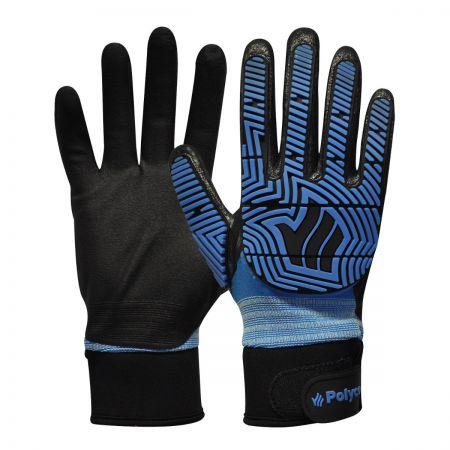 Polyco Polyflex Hydro TP Glove BLUE