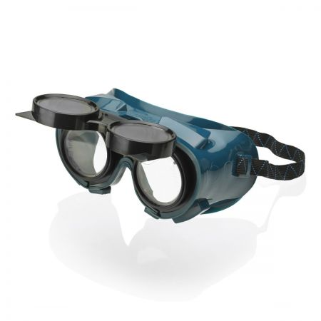 Flip Front Green Goggle
