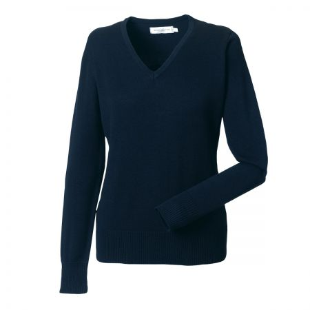 Russell Women's V-neck Sweater J710F