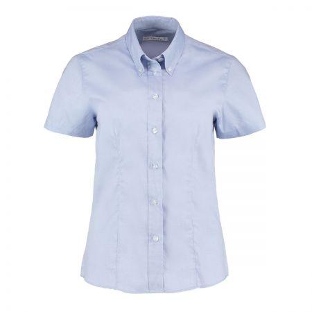 Kustom Kit KK701 Ladies Oxford Short Sleeve