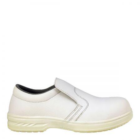 Portwest Steelite Microfibre S2 White Safety Shoe