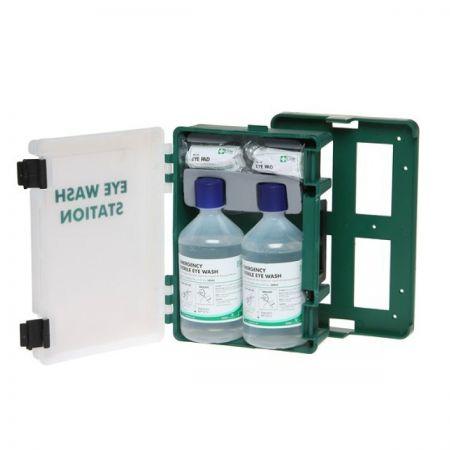 Medikit 80226 Eyewash Cabinet with Bottles